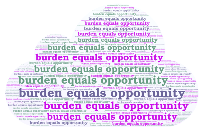 burden equals opportunity