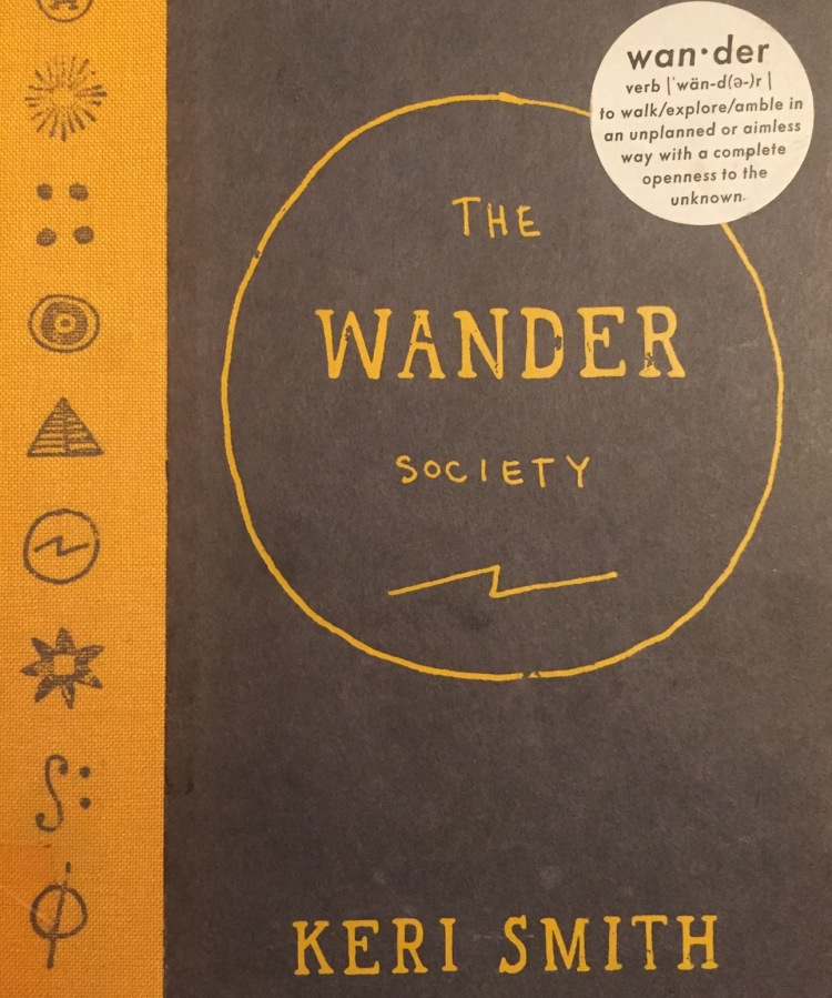 The Wander Society book cover