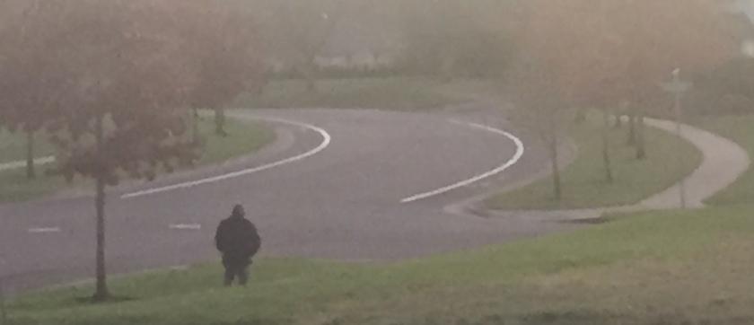 wandering man