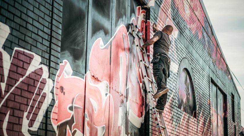 wall of graffiti