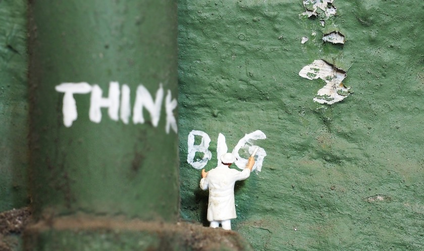 think big painter wall