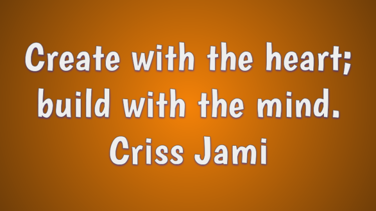 Creativity quote by Criss Jami