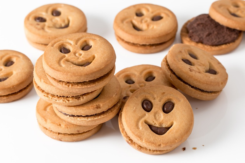 cookies with a smiley face