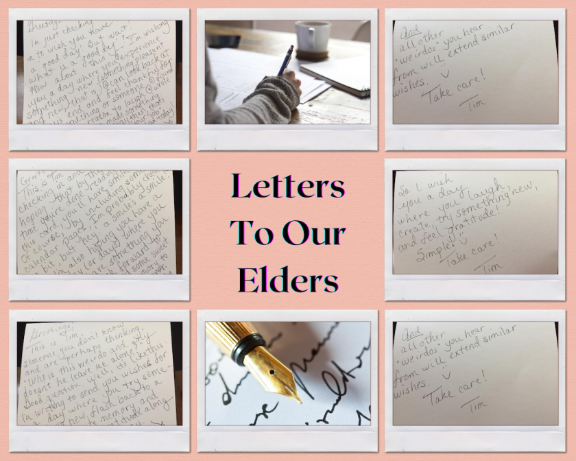 collage of letters to elders